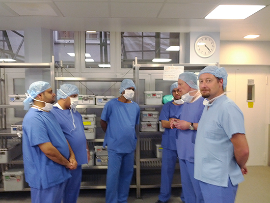 Sultan Qaboos University hospital visit