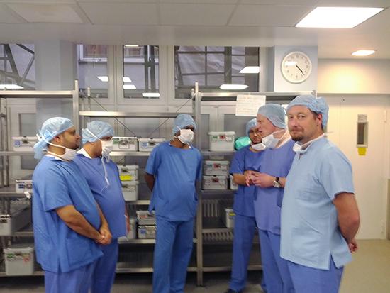Visit From The Sultan Qaboos University Hospital Oman