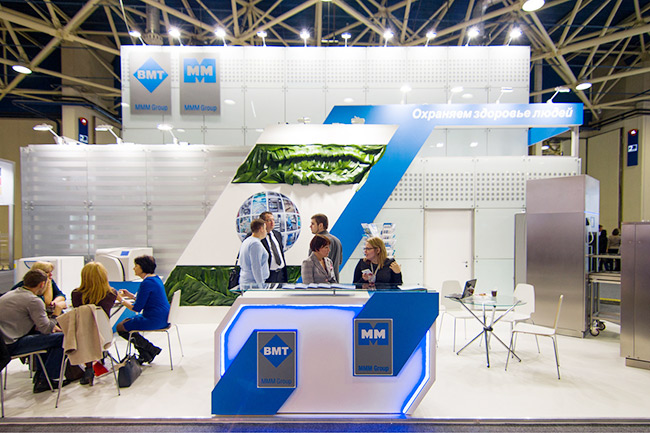 Exhibition Stand Medical : Zdravookhraneniye exhibition moscow bmt medical